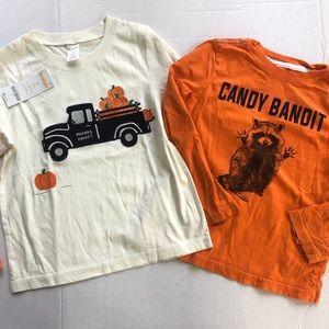 NWT pumpkin truck top candy bandit top c8 5t